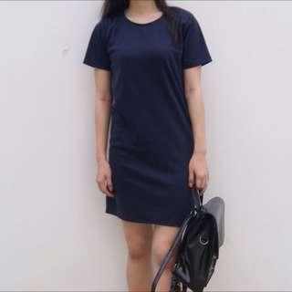 HOT DEAL!! Navy Blue Straight Dress
