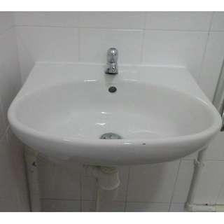 Install Wall-Hung Basin
