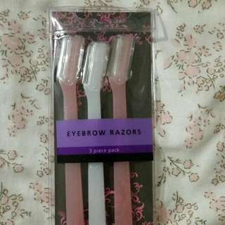 eyebrow razor 3-pieces by Watsons