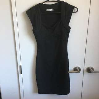 Black Tight Fitted Dress