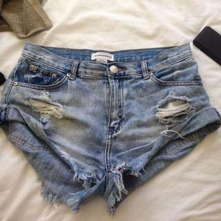 NastyGal Denim Shorts