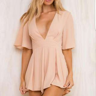 Princess Polly 'A Walk In Rome' Playsuit