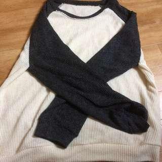 Knitted Raglan Shirt