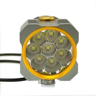Lustefire XT-80 (8-LED 3 Mode Headlight)