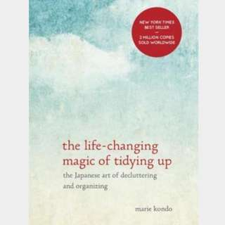 Life Changing Habit of Tidying Up by Marie Kondo