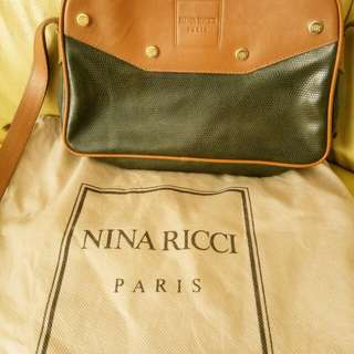 Nina Ricci vintage leather small bag