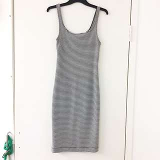Zara Tight Stripe Dress