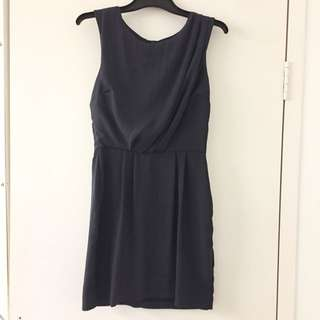 Grey Dress Topshop