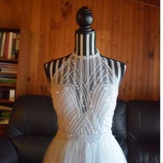 Handmade Grey Dress (approx. size 8)