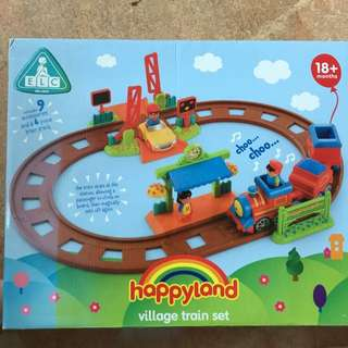 ELC Happy land Village Train Set