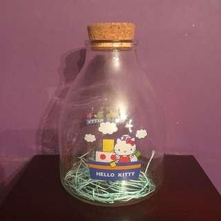 Hello Kitty 玻璃瓶