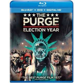 Like new, The Purge - Election Year Blu Ray Original import