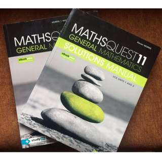 Maths Quest 11 General Mathematics Units 1&2