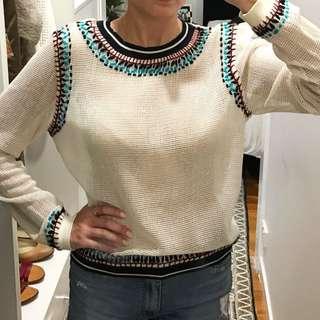 Knit Style Long sleeve Shirt