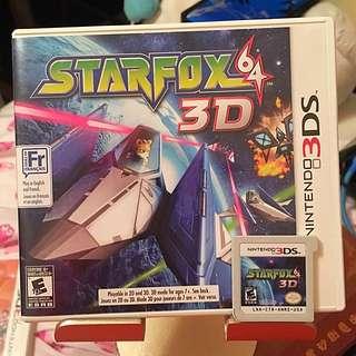 3ds Starfox64 3D 3ds