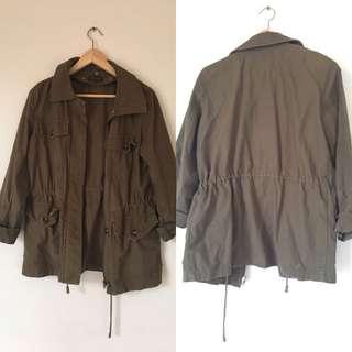 Women's TOPSHOP Trench Jacket