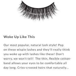 "Luxy Lash ""woke Up Like This"""