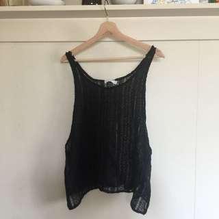 Talulah Black Knit