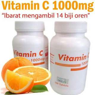 VITAMIN C 1000MG PAHANG PHARMA