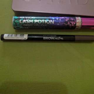 Revlon Mascara And Meybillin Brow Definer