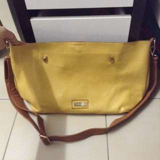 Yellow Vincci Sling Bag