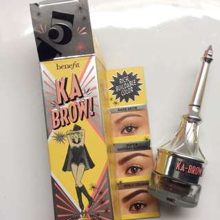 Benefit Brow Gel 'Ka Brow' Shade 5 Deep Brunettw