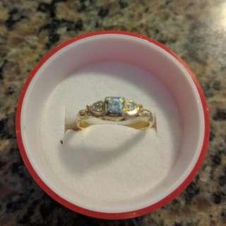 14-karat Gold Engagement Ring With Diamonds 550obo