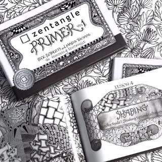 [ RESTOCKING ] Zentangle Primer Volume 1 from Rick Roberts and Maria Thomas