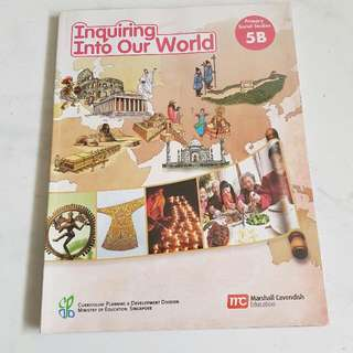 To Give Away : Inquiring Into Our World  Social Studies  Primary 5B