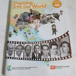 (Reserved) Give Away: Inquiring Into Our World  Social Studies Primary 4B