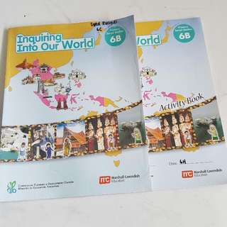 To Give Away: Inquiring Into Our World  Social Studies Primary 6B Coursebook & Activity Book