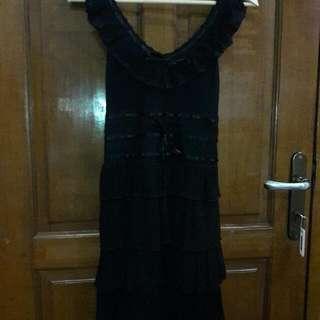 Dress Hitam Body N Soul