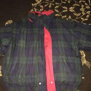 Vintage 90s Tommy Hilfiger Parka Puffy Jacket