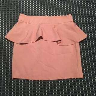 Paper Scissors Peplum skirt (size 8)