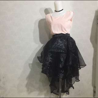 Premium Hilo Black Skirt