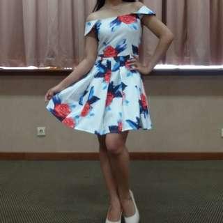 Flowers Party Dress Sabrina