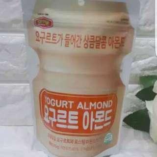 新口味杏仁果 養樂多 杏仁果 微甜 微酸 戀愛的味道 210g 240元
