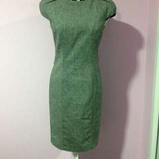 Zara Corporate Grey Dress - Size XS