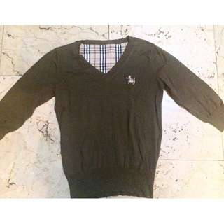 Dark Brown Puppy Sweater