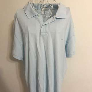 Country Road Men's Polo Shirt - Light Blue - Size XXL
