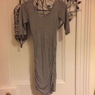 Short Striped Dress 6-8