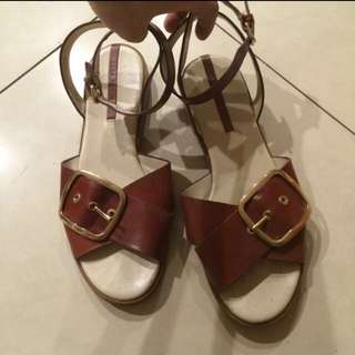Zara 涼鞋 25號