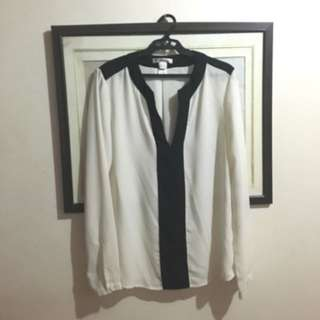 Pre-loved Mango (suit) formal blouse