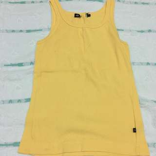 Yellow Tank From Hang Ten
