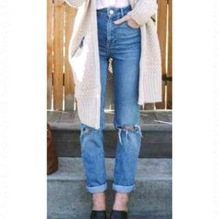 Rp! High Waist Mom Jeans