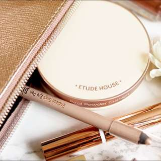 Etude House Real Powder Cushion SPF50+ PA++ in Light Beige