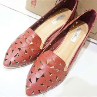Vanilla Shoes Maroon Size 37