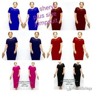 Sheryl Plus Size Jumpsuit