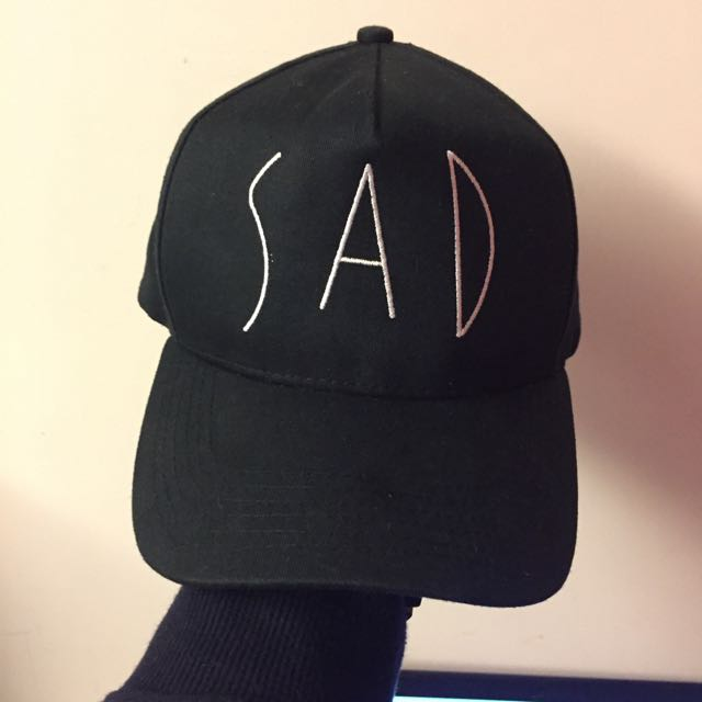 ACE LAMN Sad 黑色 老帽 帽子 棒球帽