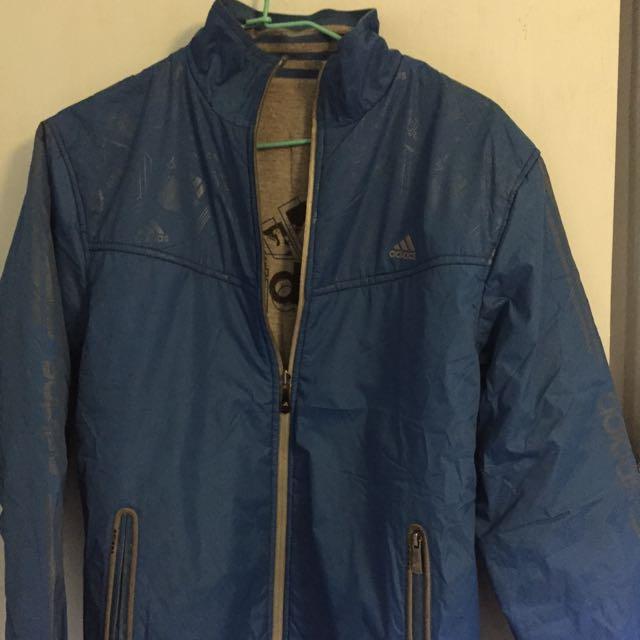 Adidas 雙面穿外套 XXXL